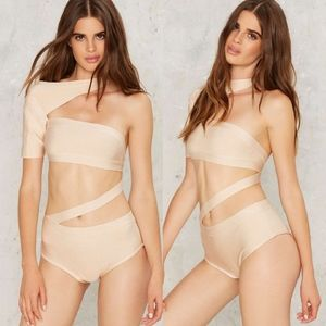 Nasty Gal BOSSA Band I Am Telling You Strappy Body